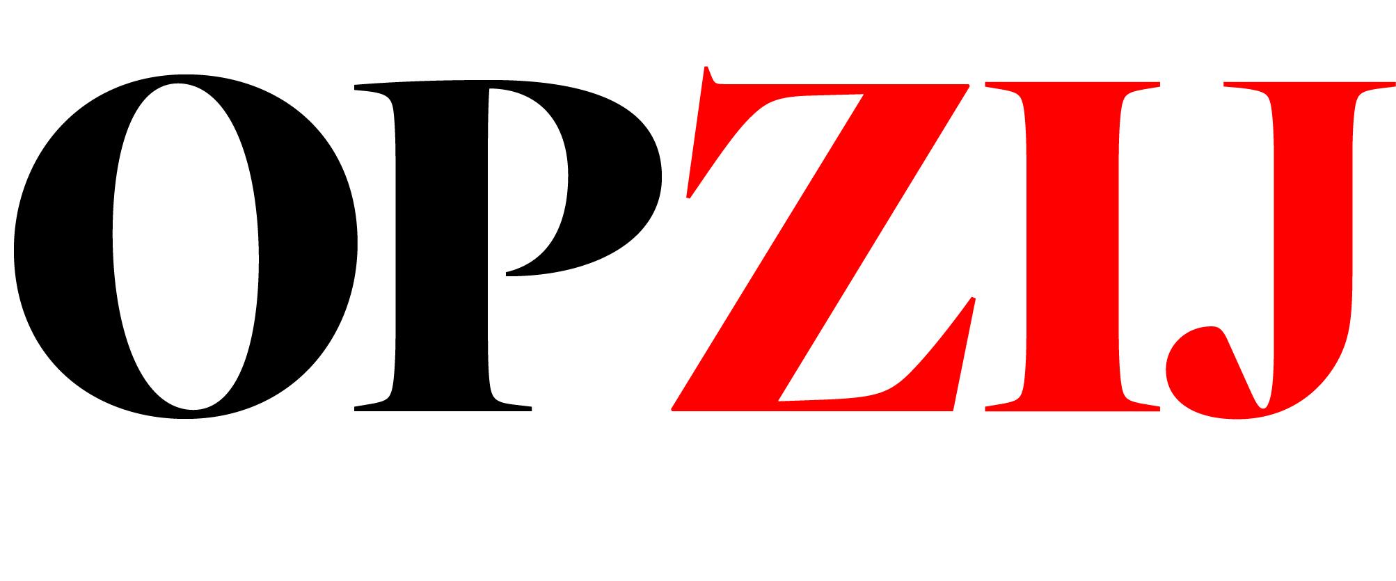 Logo-OPZIJ_zwartrood